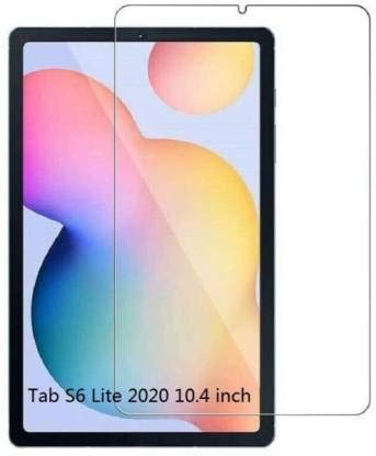 DVS MOBILE ACCESSORIES, Impossible Screen Guard 360d Flexible tempered, HD Screen Protector, Screen Guard For Samsung Galaxy Tab S6 Lite 10.4 inch FRONT (Pack of 1)