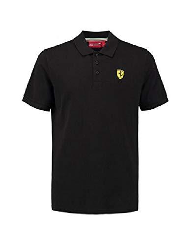 Polo Scuderia Ferrari Oficial Negro Talla M