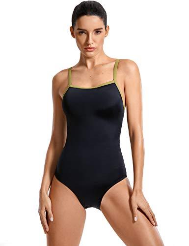 SYROKAN Damen Sports One Piece Badeanzug Trainings Profi Einteiler Bademode Mehrfarbig #7 40