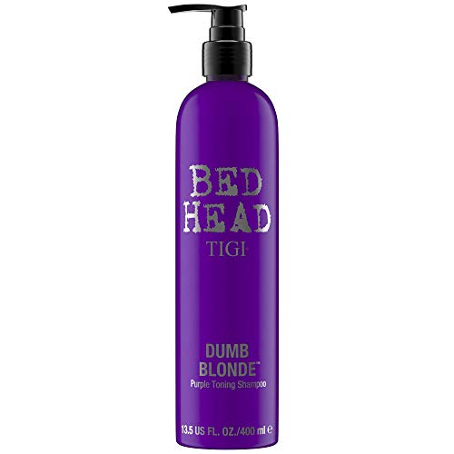 Bed Head by Tigi Dumb Blonde, violettes Toning-Shampoo für blondes Haar 400 ml