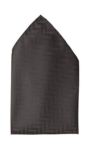 Fabio Farini - Cravates, nœuds papillons et mouchoirs attrayants et élégants pour la robe à cravate noire code noir mouchoir motifs en noir profond