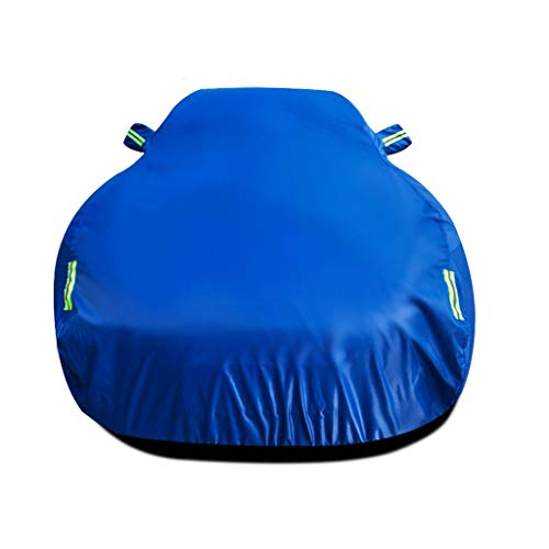 Compatible with Lotus Evora GT410 Sport Car Cover Waterproof All Weather Rain UV Protection Anti-Frost Antifreeze Anti-Hail Car Garage Outdoor Breathable Car Hood with Reflective Strips