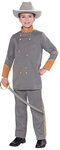 Forum Novelties Confederate Officer Child's Costume, Medium