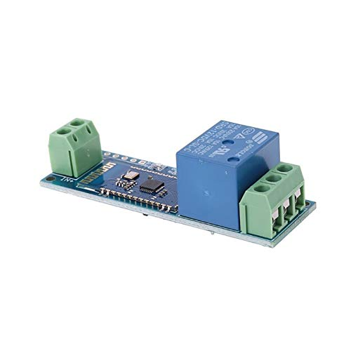 JSJJAES Relé Módulo de relevo Control Remoto Interruptor de teléfono móvil DC 12V Módulo de relé inalámbrico Componente