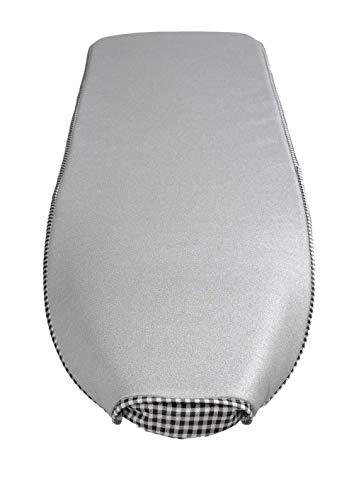 Mabi® 702 Bügelbrettbezug | KETLLER KETTtex Alu-Bügelbezug 138 x 38 cm | Dampfbügelgeeignet | Gegenbügeleffekt | Hitzewiderstandsfähig | Langlebig | Stromsparend