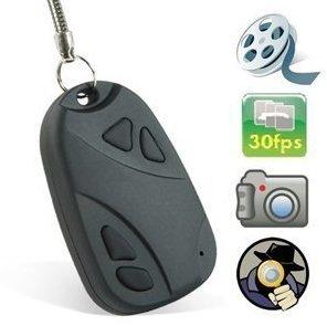 Shift HQ30 mini coche Fob llavero Disfrazado cámara oculta espía grabador de vídeo