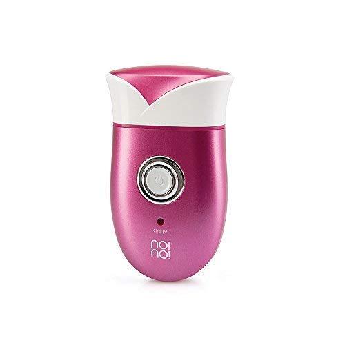 No!no! Cordless Lady Shaver - Elektrisches Gerät zur Haarentfernung für Frauen - Körpertrimmer für glatte Arme Beine und Bikinizone - Wasserdicht - 30 Minuten mit einer Ladung - UK 3-poliger Stecker