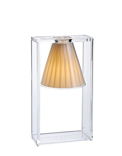 Kartell 9110/BE Light Air, Synthétique, E14, 33 W, Beige, L17 H32 P7,4 cm