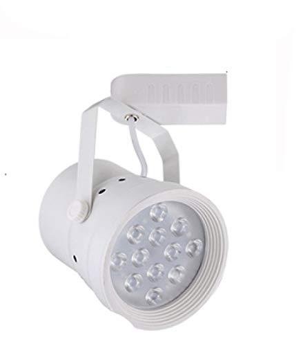 Techo Con Focos Lámpara De Techo Foco De Techo Foco De Luz Led Para Riel Foco Largo Para Riel De Poste Cob Spotlight-6000K Es Blanco 10W