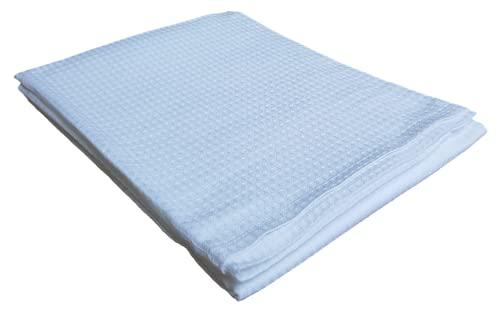 Toalla de baño, toalla de ducha, nido de abeja, 100 x 150 cm, gimnasio, baño, piscina y playa