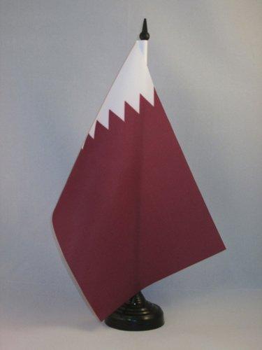 AZ FLAG Qatar Table Flag 5