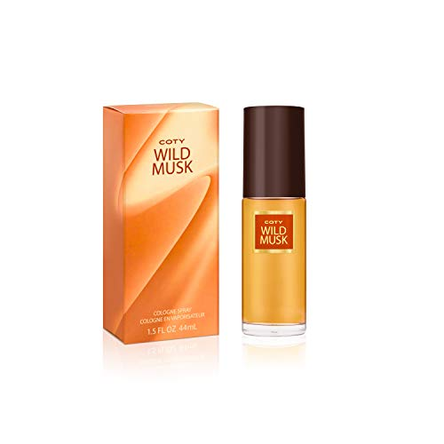 Coty Wild Musk Cologne Spray 1.5 Ounce Women's Fragrance in a Musky Floral Scent Great Gift for...