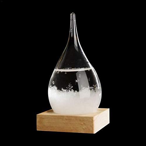 Sturmglas, Wettervorhersage Flasche Desktop Dekoration Weihnachtsgeschenk, Mode Kreative Desktop Dekoration Flasche Wasser Glas Barometer Wettervorhersage Wetterstation