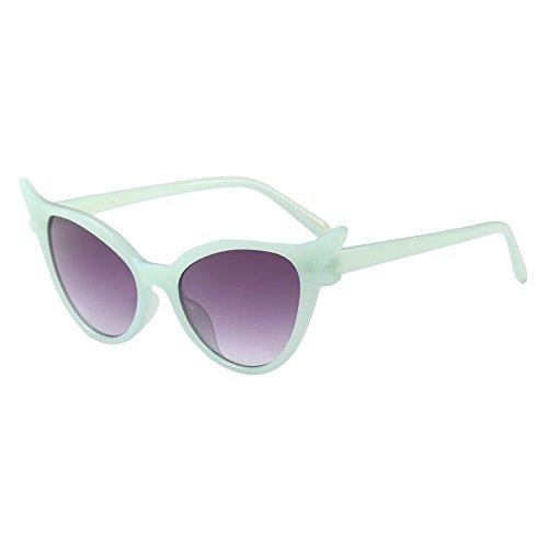 LEEDY Nuovi Occhiali da Sole, personalità Unisex, Occhiali da Moda per Gatto
