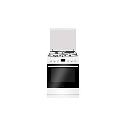 Amica cocina mixta 60 x 60 cm – 3 fuegos de gas + 1 placa – ACM7035VB