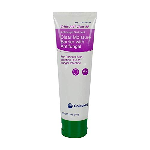 627571 - Critic-Aid Clear AF Moisture Barrier with Antifungal, 2 oz. Tube