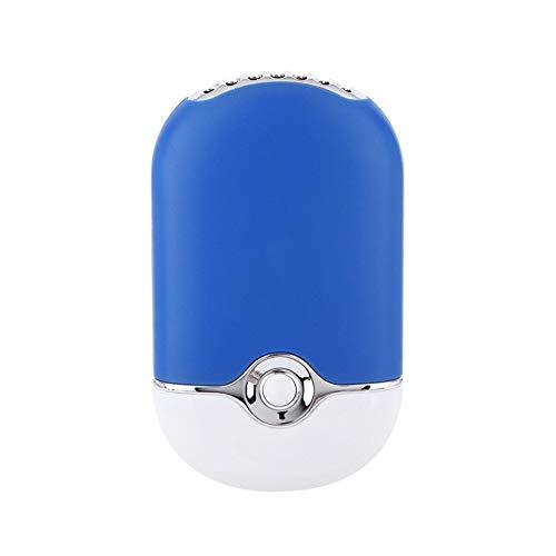 YLiansong-office Ventilatori USB USB Mini Ventilatore Aria condizionata attività Ricaricabile Tenuta in Mano di refrigerazione Estate di Raffreddamento (Colore : Blu, Dimensione : Taglia Unica)