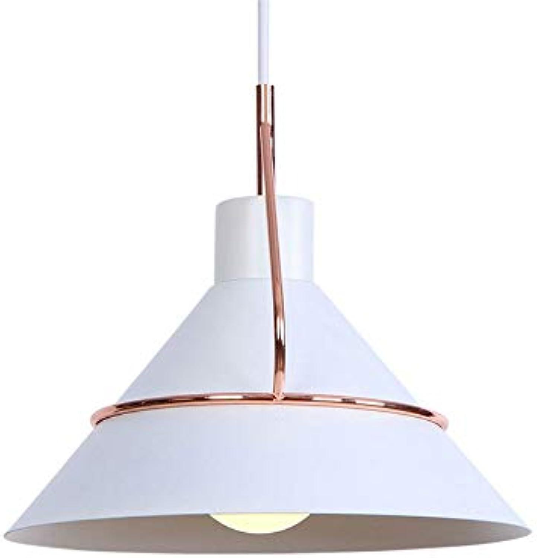 Rishx Metall Restaurant Drop Light Retro Minimalistische Eisenkunst Edison E27 Deckenpendelleuchte Hhenverstellbare Vintage Hngelampe Kronleuchter Leuchte (Farbe   Weiß)