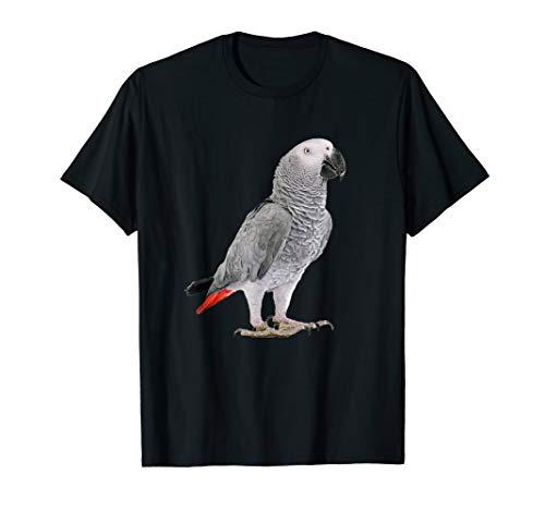 Graupapagei Papagei Sittich Vogel Shirt