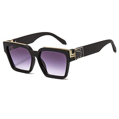 New Fashion Big Frame Sonnenbrille mehrfarbig optional PC-Material Frame Sonnenbrille allgemeine Sonnenbrille