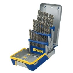 29 Piece Cobalt M-42 Metal Index Drill Bit Set 29Pc Drill Bit Industrial Set-Cobalt M42