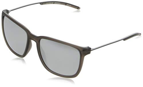 Porsche Design zonnebril P8637 B 57 17 140 rechthoekig zonnebril 57, bruin