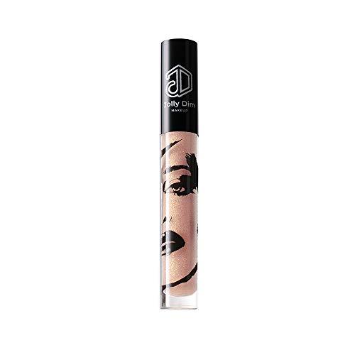 Jolly Dim Makeup Lipgloss Gold Glitter 5, nicht klebend