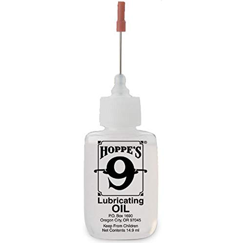 Hoppe's No. 9 Lubricating Oil, 14.9 ml Precision Bottle