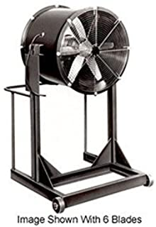 """Americraft 60"""" Steel Propeller Fan With High Stand 5 HP 43000 CFM"""