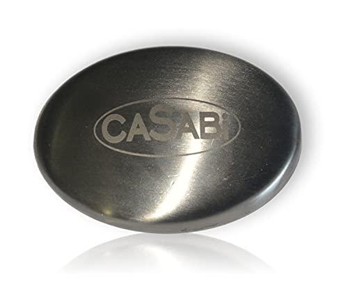 Jabón de acero, desodorante, jabón de cocina, elimina los olores desagradables de las manos después de preparar comidas, como pescado, ajo, cebolla, etc.