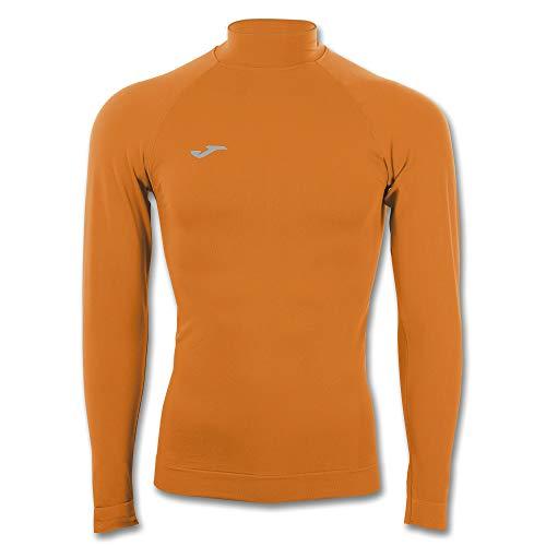 Joma Brama Classic Camiseta Termica, Hombre, Naranja, L-XL