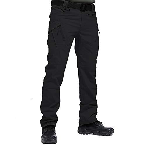 LHHMZ Pantalones Cargo de Senderismo para Hombres al Aire Libre Tiro Deportivo Caza Militar Tactical Combat Work Pantalones Casuales