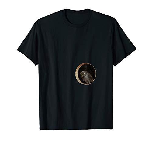 Hieronymus Bosch Eule Garten der Erdenfreuden T-Shirt