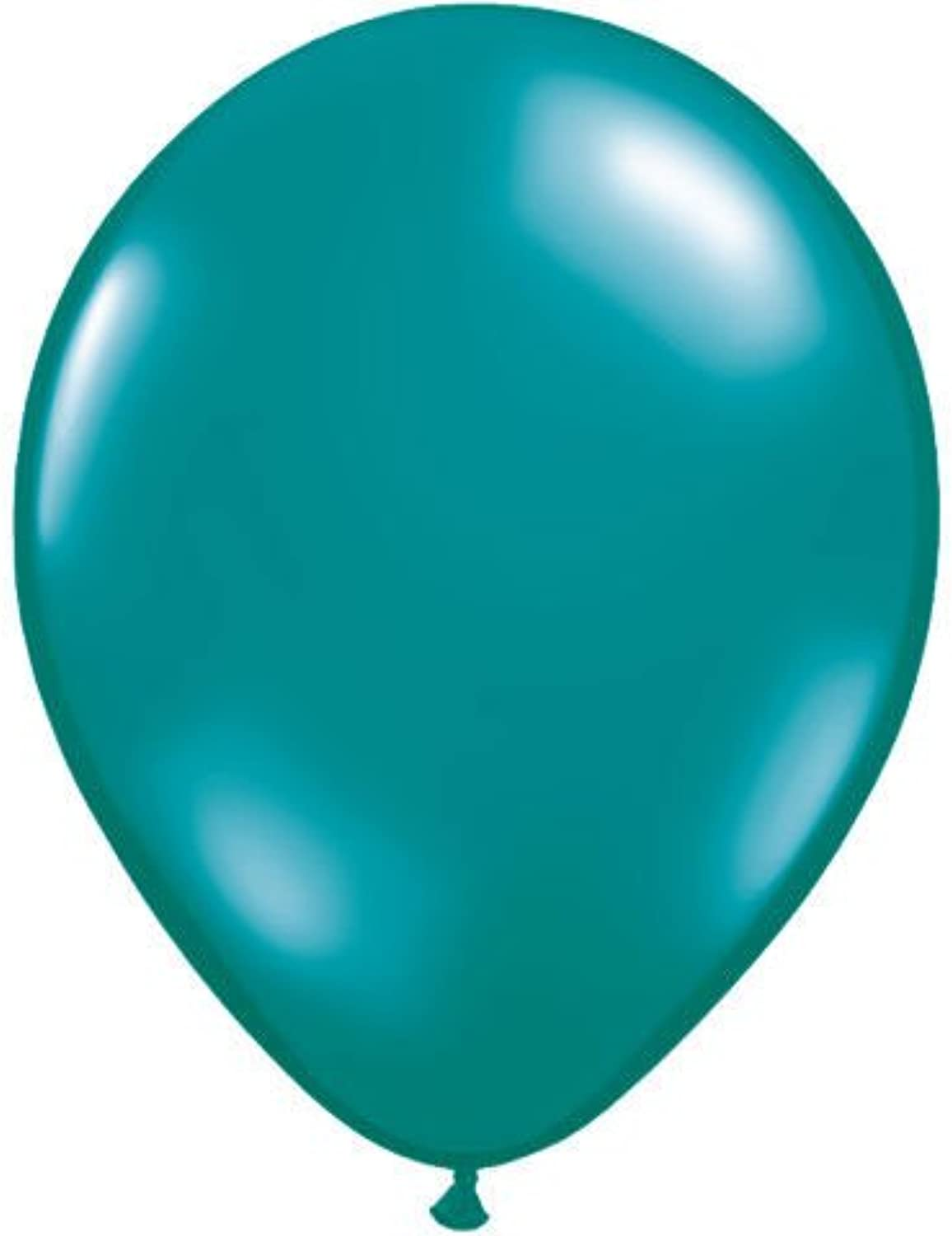 16 Teal Jewel Tone Balloons (10 ct) (10 per package) by Qualatex