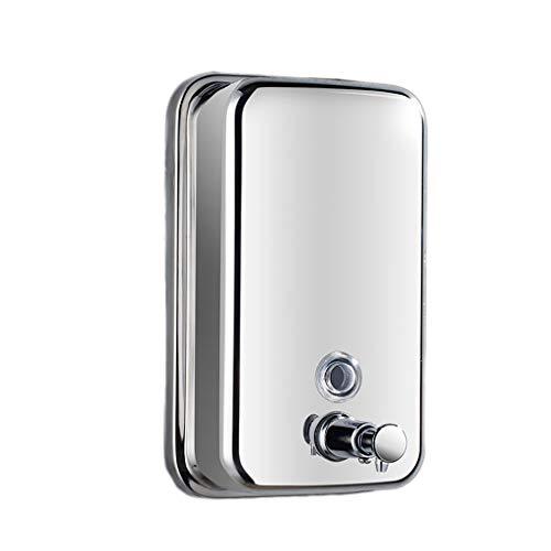 ZHIHUI Dispensador de Jabón Dispensador de jabón, dispensador de jabón y líquido de Acero Inoxidable de Primera Calidad for Cocina y baño (1000 ml) Bomba de Jabón (Color : Metallic, tamaño : 501ml)