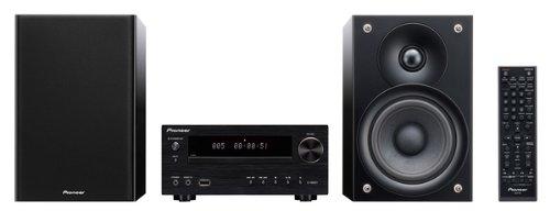 Pioneer X-HM51-K Micro-System (2X 50 Watt, Bluetooth, USB) inkl. verbesserte 2 Wege-Lautsprechersystem schwarz