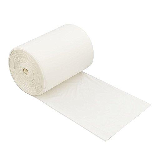 Bblie 30L 100% biodegradables bolsas de basura, blanco