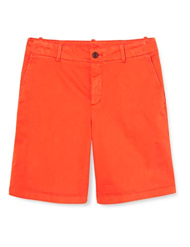 BOSS Damen Saclea-D Shorts, Orange (Bright Orange 820), W(Herstellergröße: 38)