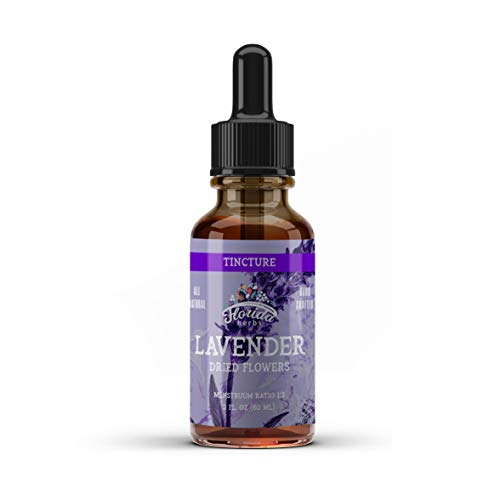 Lavender Tincture, Organic Lavender Extract (Lavandula X Intermedia) Dried Flow