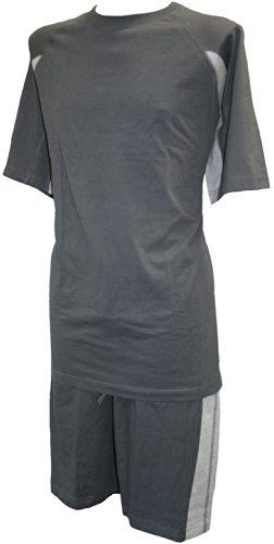 Parfait Collection Hommes 100% Coton Jersey Pyjamas Gris 2XL