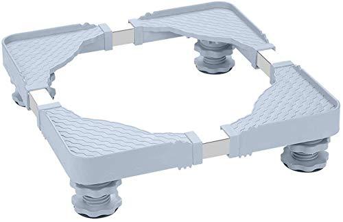 Dongyd Piccolo Lavatrice Staffa Anti-Skid riduzione del Rumore Base/a Prova d'umidità Pad Alta Staffa (Size : 7-9cm)