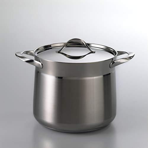 Barazzoni(バラゾーニ)両手鍋ステンレス∅20×H18.5cm蓋付ストックポットMYLADY510601020