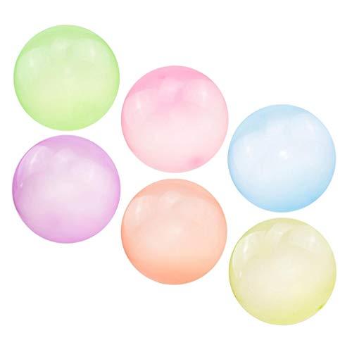 Amuzocity Bola Gigante Inflable 6X, Burbuja Inflable Gigante de TPR, Burbujas Inflables para