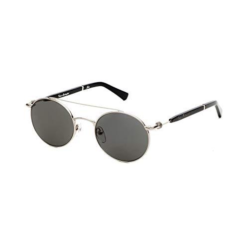 Tonino Lamborghini Herren Sonnenbrille GEAR TL303S02 Silber/Grau