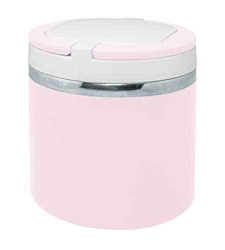 NERTHUS Termo para solidos Rosa Pastel niñas de 700 ml de Capacidad, Acero Inoxidable 18/8