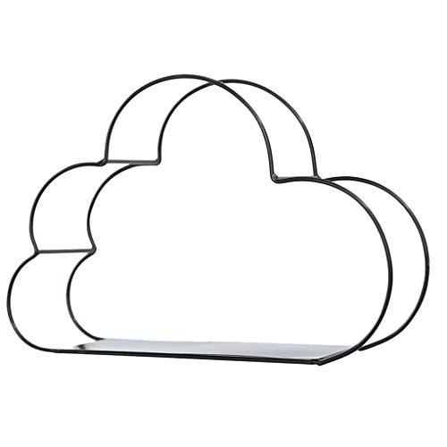 Morza Diseño de la Nube montado en la Pared del Estante de visualización Figuras Crafts Estantes Titular del Ministerio del Interior del almacenaje del Metal del Hierro