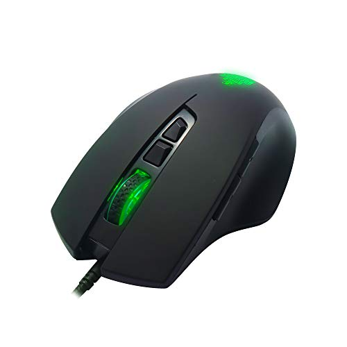 Ant Esports GM200W Optical Wired Gaming Mouse | 6 Programmable Buttons, 3200 DPI Adjustable and 7 Breathing Lights - Black…