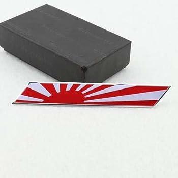 B Japan Janpanese Flag Car Emblem Badge Stickers Decal For TOYOTA MAZDA NISSAN MITSUBISHI SUBARU