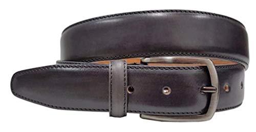 Echt Italiaans Stijlvol, Naadloos, Uniek Lederen Jeans Riem 35mm Breed - Meerdere maten/Verstelbaar