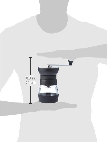 Hario Skerton PRO Coffee Mill | Large Adjustable Hand Coffee Grinder With Ceramic Burrs
